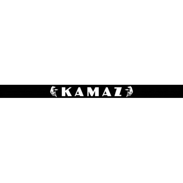 Камаз , черный фон (16x220)