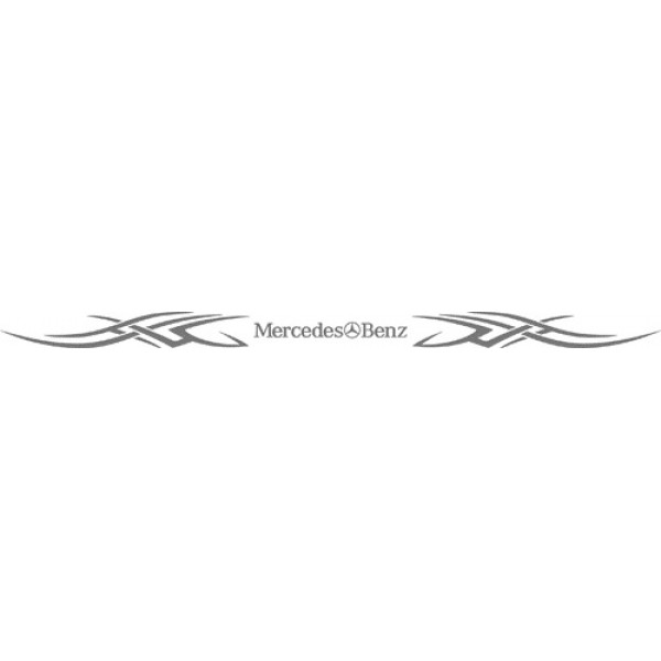 Mercedes (внутренние, серебро)13,5х220