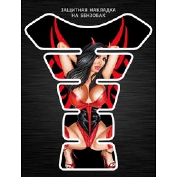 Девушка демон (20х25) силиконовая