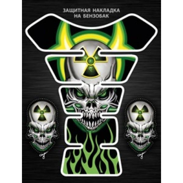 Череп радиация (20х25) силиконовая