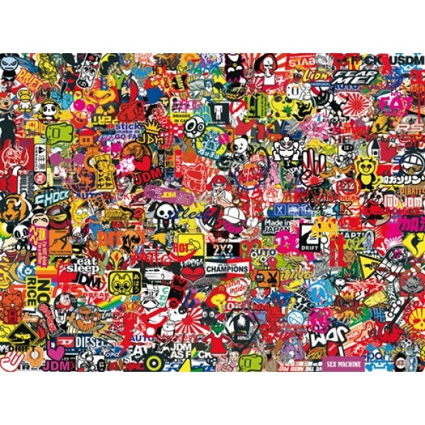 Sticker-boom № 3 пленка KPMF(60х80)