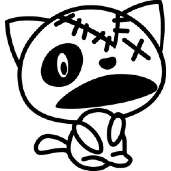 Dead Kitti, 10х10 (черный) упак. 10шт