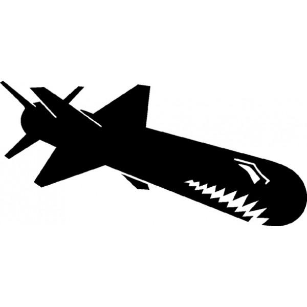 SharkRocket , черный (9.5х23)