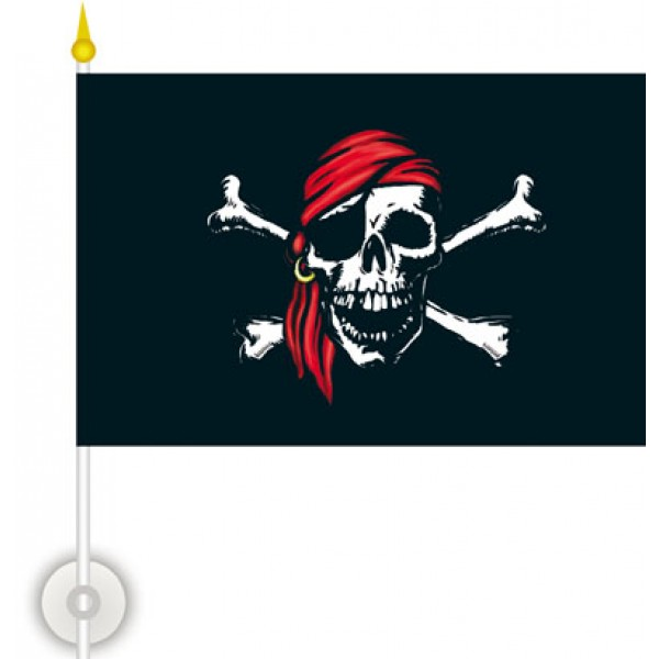 Пиратский флаг  (15х23) упак. 10шт.