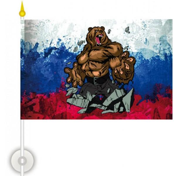 Россия (медведь)  (15х23) упак. 10шт.