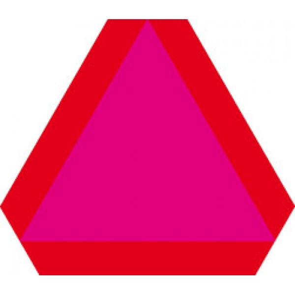 Тихоходное Т.С. (флюорисцентная краска+светоотражающая пленка) 41х35