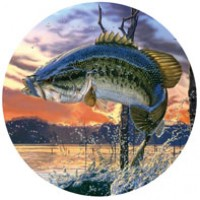 За рулем рыбак Ø56 см (на запаску)