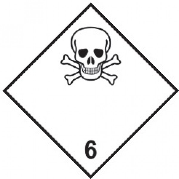 Опасный груз токс.в-ва  (25х25)