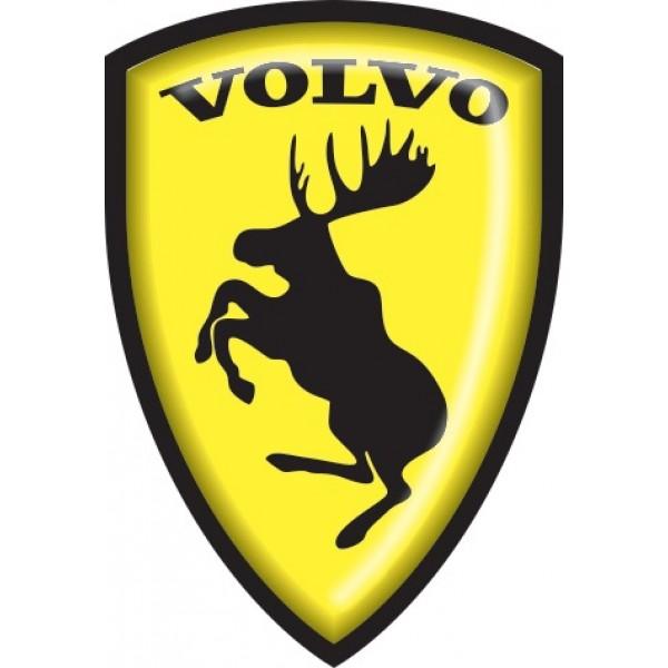 "объемная ""Volvo"" (12х8см)"