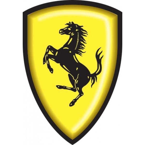 "объемная ""Ferrari"" (12х8см)"