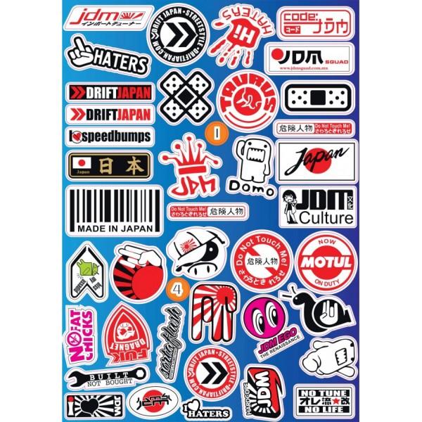 """Sticker -boom JDM №9"" (25х35 см)"