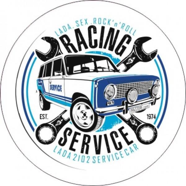 """Ø11 Racing Service"" (11х11 см)"