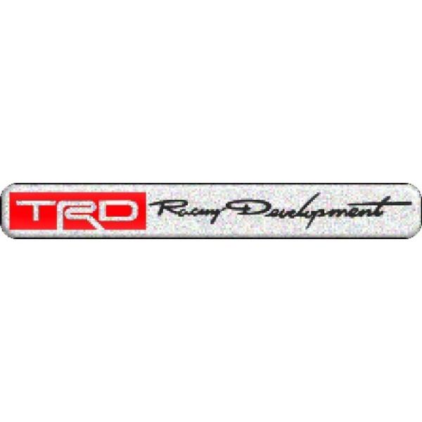 "объемная  эмблема "" TRD"" (1,5х11,2 см) 2 шт."