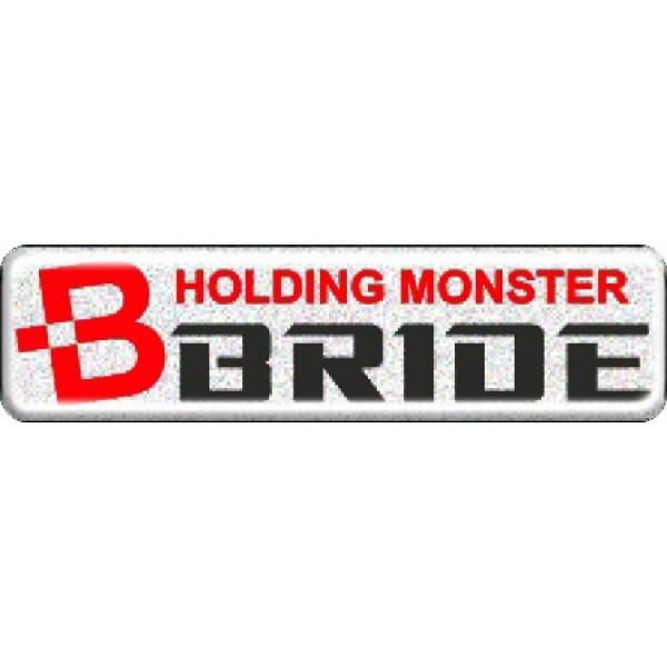 """объемная  эмблема """" BRIDE """" (3х11,2 см)"""