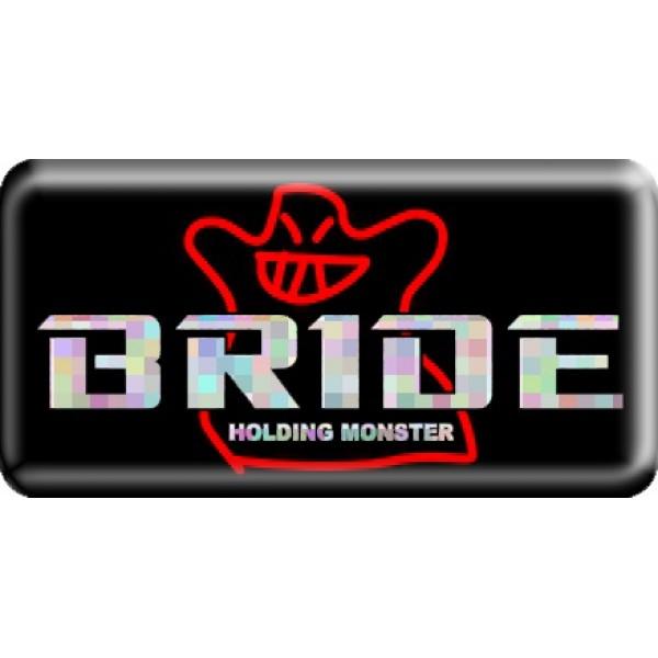 """объемная  эмблема """" Bride """"  (3,8х7,5 см)"""