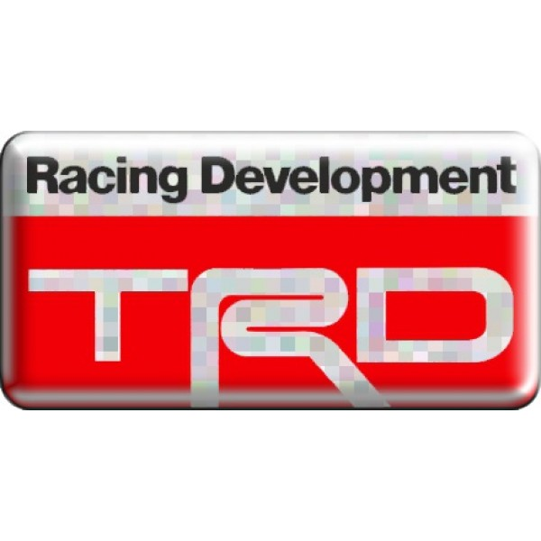 "объемная  эмблема "" TRD""  (3,8х7,5 см)"