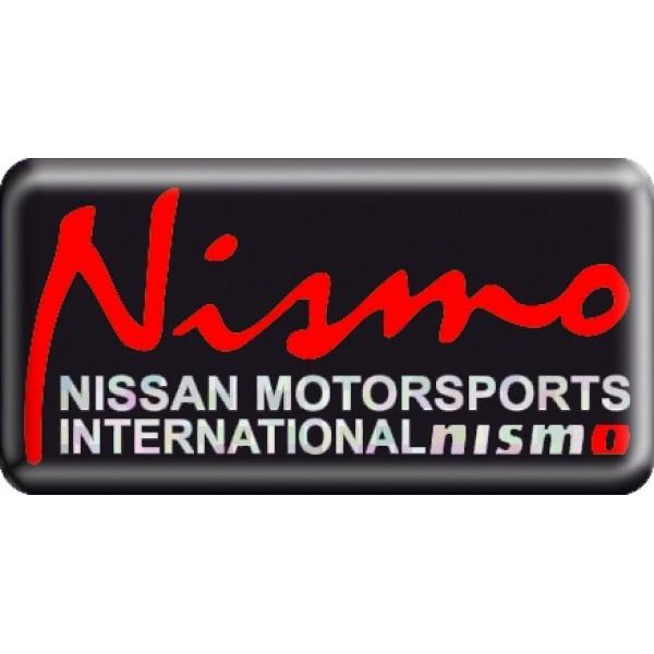 "объемная  эмблема "" NISMO ""  (3,8х7,5 см)"
