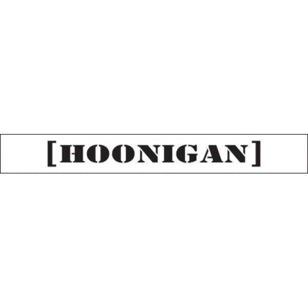Hoonigan: белый фон (16.5х130)