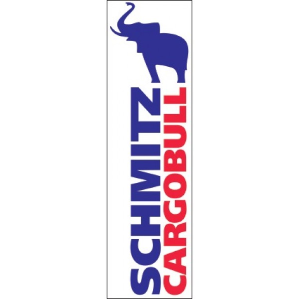"""SCHMITZ CARGOBULL"" (19 х 71 см) вертикальный"