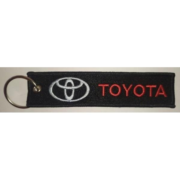 Брелок (3x13см) - Toyota