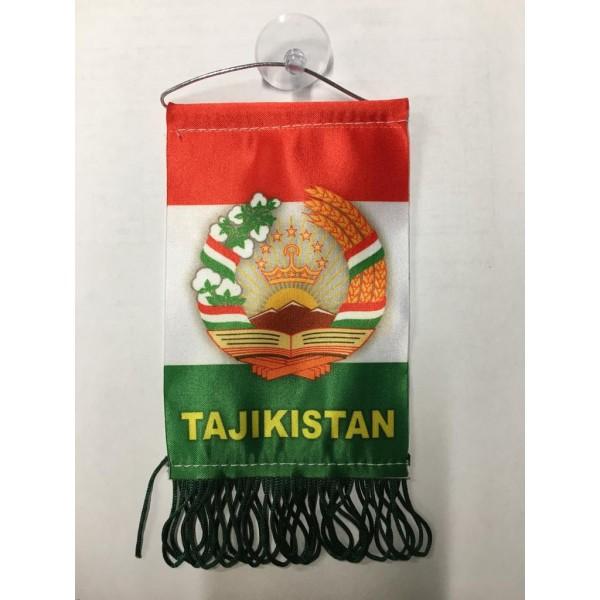 Вымпел Tajikistan , бахрома (8х12)
