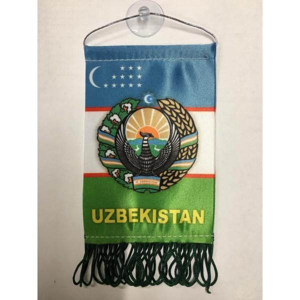 Вымпел Uzbekistan , бахрома (8х12)