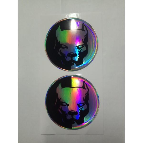 PitBull ⌀ 6см (комплект на диски)