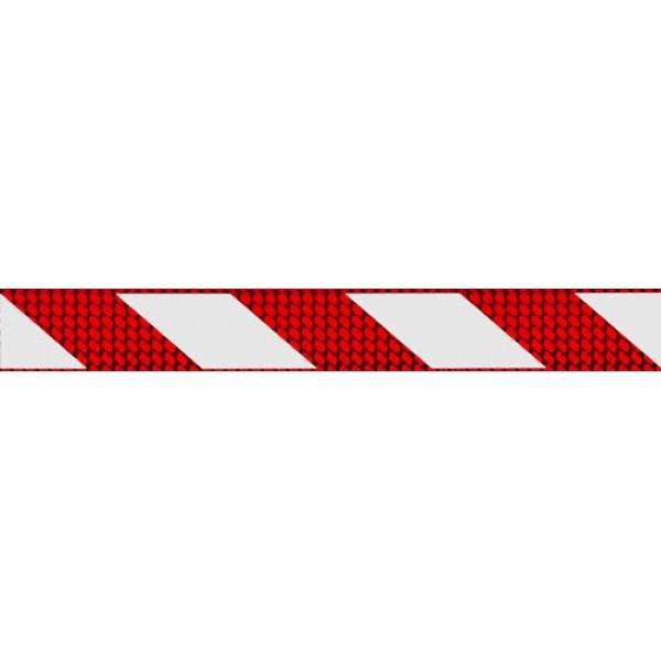 Отражатель-зебра ,кубик, красный (5х38) комплект