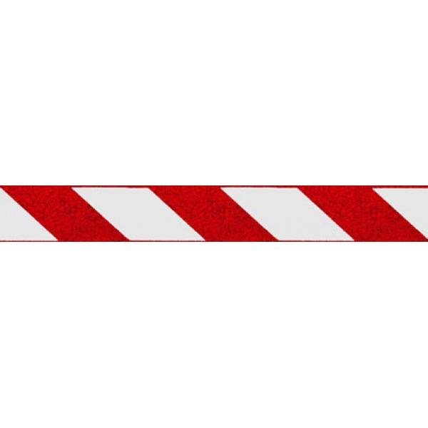 Отражатель-зебра ,точки , красный (5х38) комплект