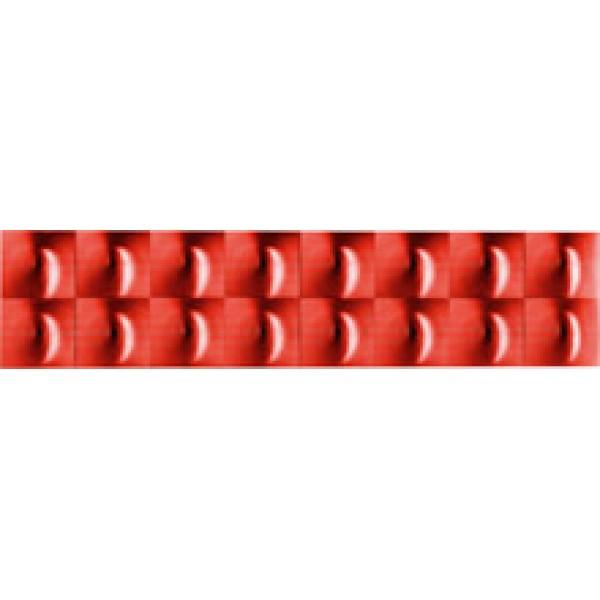 Отражатель-полоска , линза , красный (7х60) комплект